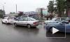 ДТП на улице Коммуны парализовало движение транспорта на несколько часов