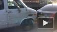 Появилось видео массового ДТП на Обводном канале