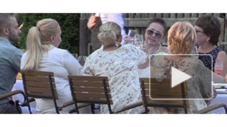 Жанна Фриске отметила свой 40-летний юбилей в Прибалтике и даже выпила вина