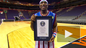 Американский баскетболист установил мировой рекорд дальности броска