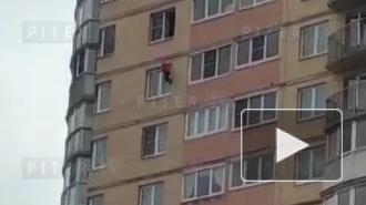 Появилось видео падения 5-летней девочки с 13 этажа на Туристской улице