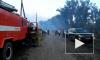 В Оренбургской области в поселке горит сразу больше десятка построек