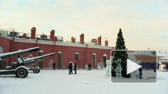 """У Нарышкина бастиона """"замерзли"""" герои мультфильмов"""