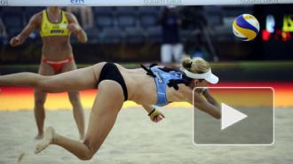 Горячий прогноз погоды: пляжный волейбол в бикини