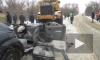 В Пензенской области трактор смял легковушку