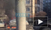 Видео: на Ириновском проспекте загорелась БМВ Х6