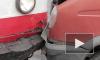 """""""Газель"""" с грохотом врезалась в трамвай на перекрестке Волковского и Бухарестской, образовалась огромная пробка"""