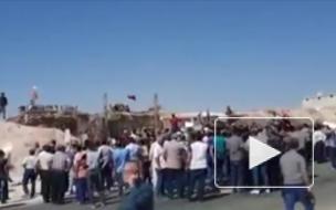 В Идлибе прошла акция против турецкого военного присутствия