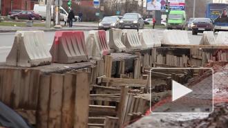 Петербургские автомобилисты недовольны ремонтом дорог
