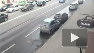 Отечественная классика в ДТП. Авария на 1-й линии В.О.
