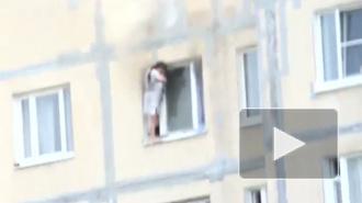 Женщина чудом спаслась при пожаре на Кржижановского