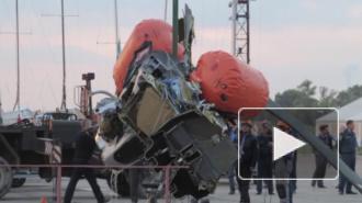 Крушение вертолета в Нижегородской области попало на фото и видео, погиб продюсер