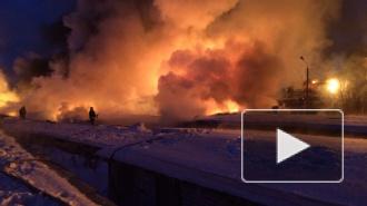 Взрыв и пожар на железной дороге в Нововятске: горели цистерны с газом