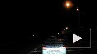 На Фильтровском шоссе Павловска иномарка врезалась в такси