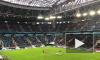 Матч по футболу Россия - Франция начался с минуты молчания в память о жертвах пожара в Кемерове