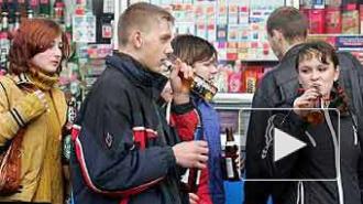Полицейские выяснили, где в Петербурге продают алкоголь несовершеннолетним