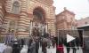 На юбилее петербургской синагоги стреляла пушка, лилось вино, гремел праздник