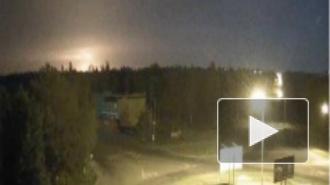 В Интернете появилось видео сбитого в Луганске 14.06 самолета Ил-76