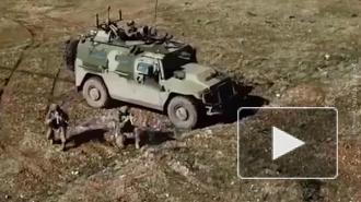 Удар российского дрона-камикадзе по боевикам в Идлибе попал на видео