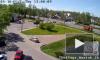 Видео: на Красносельском шоссе маршрутка с пассажирами врезалась в дерево