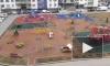 В Мурино детские площадки обработали дезинфицирующими средствами