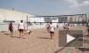 Петербургские волейболисты против алкоголя