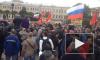 """Полиция и организаторы по-разному оценили численность митинга против """"моста Кадырова"""""""