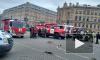 """Видео: """"Сенную"""" вновь закрыли, около станции дежурят спасатели"""