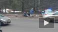 В погоне за нарушителем машина ДПС протаранила легковушк...