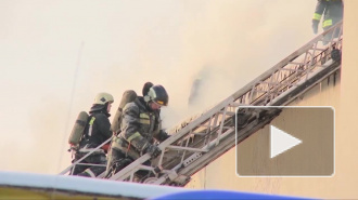 Из горевшего на Наличной улице дома эвакуировали 8 жильцов