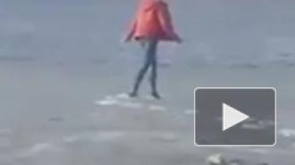 Видео из Якутска: подросток провалился под лед