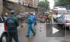 В Красноярске на дорогу рухнула стена путепровода, двое погибли