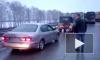 Появилось видео и фото с места массовой аварии под Новосибирском на М-51