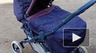 В Петербурге ВАЗ протаранил коляску с двухлетним ребенком на переходе