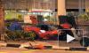 """В Сингапуре """"Феррари"""" на полной скорости протаранил такси"""
