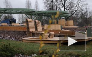 Комблаг показал новое пространство для отдыха на Суздальских озерах в Петербурге