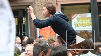 """""""Навальный сход"""" в Петербурге: полиция ненавидит молодых и красивых"""