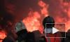 МЧС опубликовало видео тушения пожара на лакокрасочном заводе в Петербурге