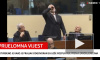 """Хорватский генерал выпил """"яд"""" в зале суда (видео)"""