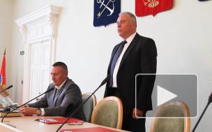 Видео: Дмитрий Никулин избран главой Выборгского района