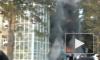 Пожар в красноярском торговом центре перекинулся на соседнее здание