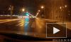 На Малоохтинском проспекте Nissan Patrol вылетел на встречку и подмял две машины