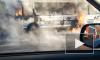В Кемерово полностью сгорела маршрутка