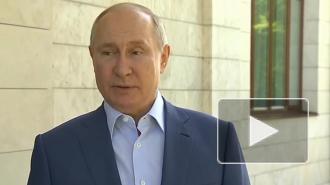 Путин сообщил о 21,5 млн вакцинированных от коронавируса в России