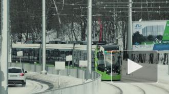 В Петербурге появится 21 новый трехсекционный трамвай