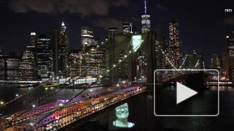 ВНью-Йорке прошла траурная церемония попогибшим впериод пандемии