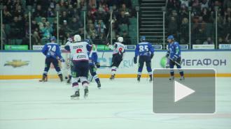 """В Петербурге """"Барыс"""" обыграл СКА - 5:2"""