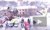 Последствия взрыва в Иванове сняли с высоты птичьего полета