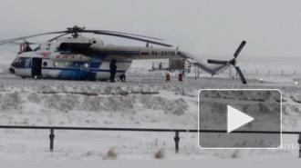 Вертолет Ми-8 с вахтовиками совершил жесткую посадку в ЯНАО