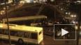 Рейсовый автобус протаранил несколько машин на Рублевке